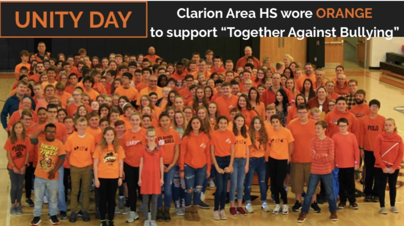 "Clarion Area HS ""Together Against Bullying"""
