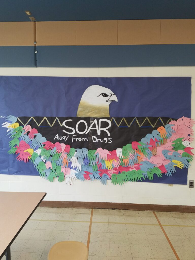 "AC Valley ""Soar Away from Drugs"""